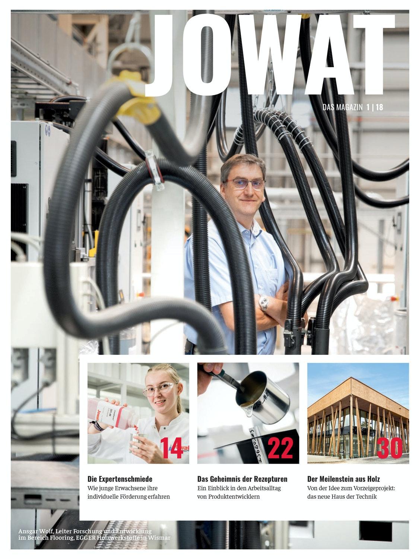 JOWAT - Das Magazin, Ausgabe 1/2018