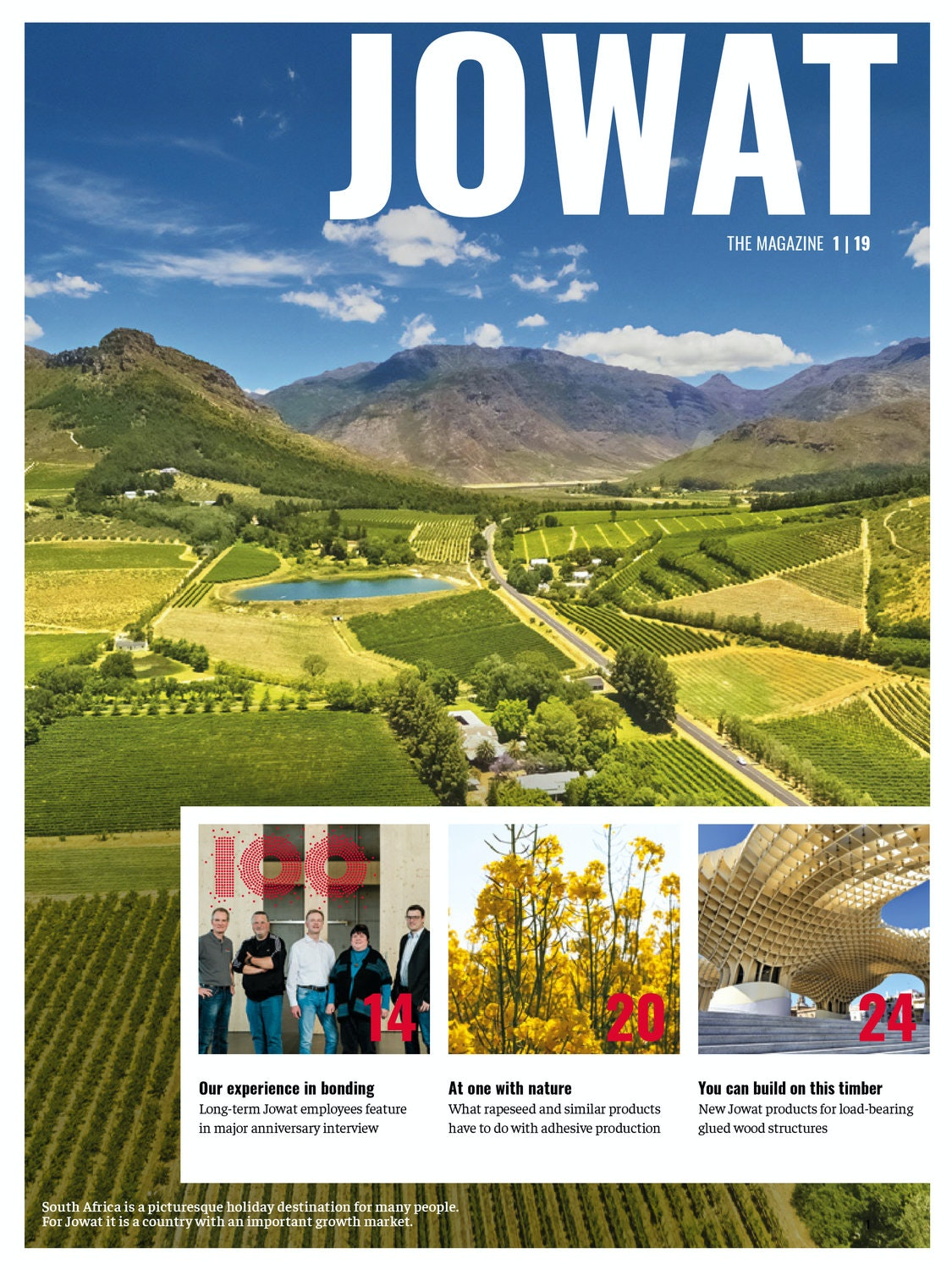 JOWAT - The magazine, Issue 1/2019