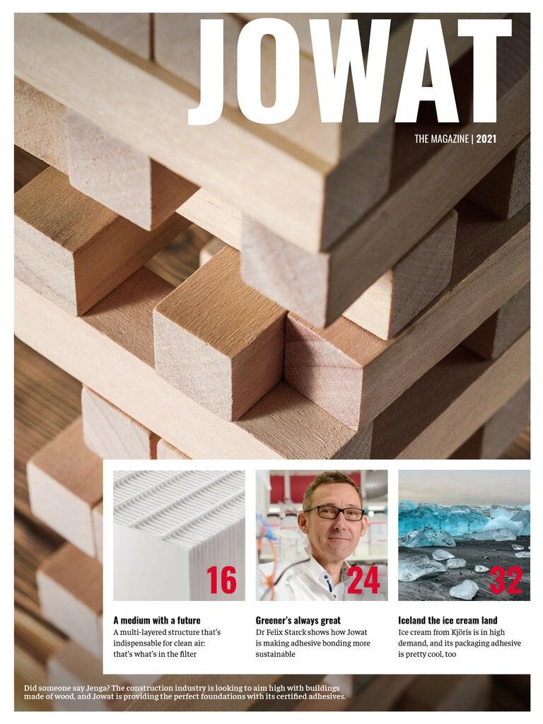 JOWAT - The magazine, Issue 1/2021
